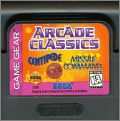 Arcade Classics - Centipede + Missile Command + Pong