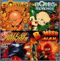 4 in 1 Super CD - Bomberman + Bonk 1 / 2 + Gate of Thunder