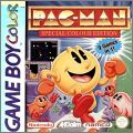 Pac-Man - Special Colour / Color Edition - 2 Games in 1