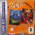 2 Games in 1 - Hot Wheels Velocity X + Hot Wheels World Race