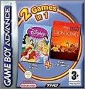2 Games in 1 - Disney Princess + The Lion King