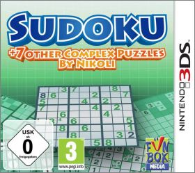 Sudoku + 7 Other Complex Puzzles by Nikoli (Nikoli no ...)