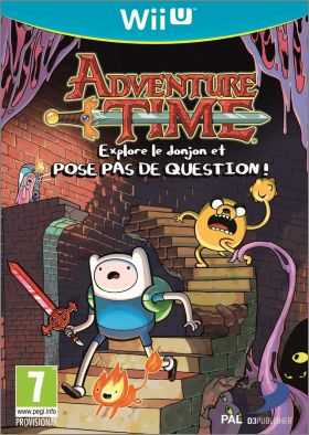 Adventure Time - Explore le Donjon et Pose Pas de Question !