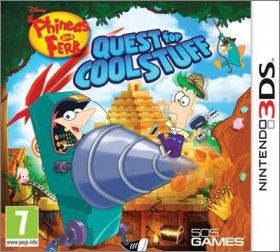 Phineas and Ferb - Quest for Cool Stuff (Disney ...)