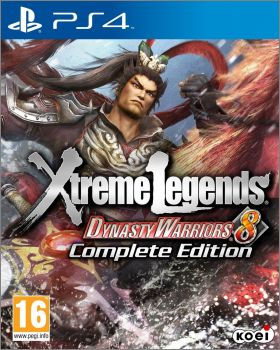 Dynasty Warriors 8 (VIII) - Xtreme Legends - Complete ...