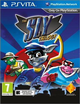 The Sly Trilogy - 1 + 2 + 3 (Sly Cooper Collection)