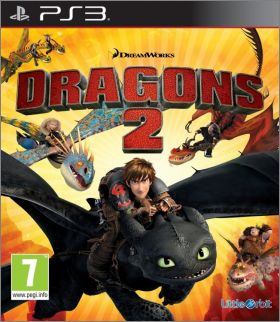 Dragons 2 (II, How to Train Your Dragon 2, DreamWorks ...)