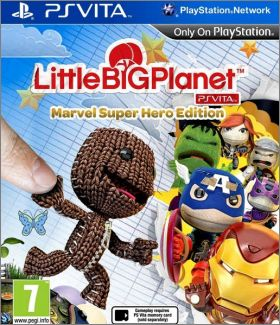 LittleBigPlanet - PS Vita - Marvel Super Hero Edition