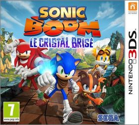 Sonic Boom - Le Cristal Brisé (Shattered Crystal, Island...)