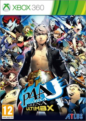 P4AU : Persona 4 - Arena Ultimax (Ultimax Ultra Suplex Hold)