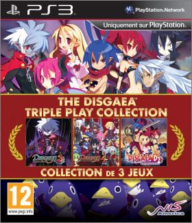 The Disgaea Triple Play Collection - 3 (III) + 4 (IV) + D2