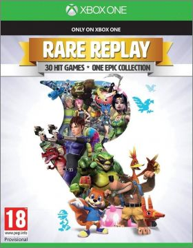 Rare Replay - 30 Hit Games, One Epic Collection